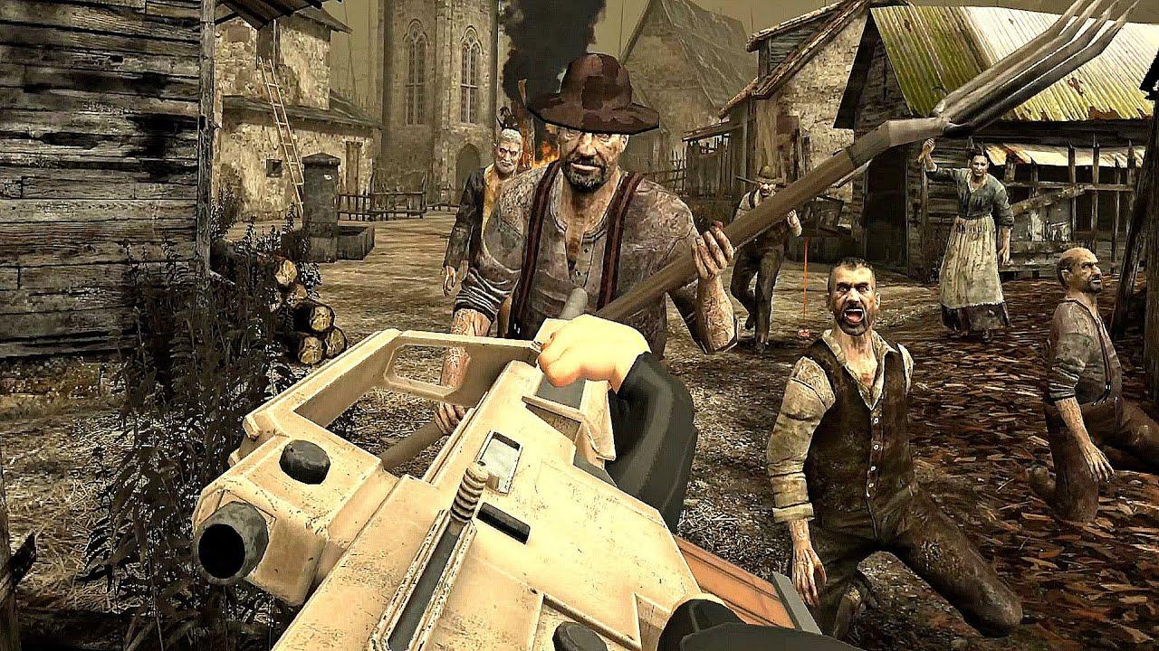 Download Resident Evil 4 VR - John Wick Gameplay Edition (4K 60FPS)