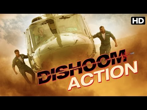 Making of Dishoom (Action Sequence)|Dishoom |...