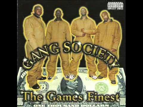 GANG SOCIETY - BLACK LIPS & RED EYES