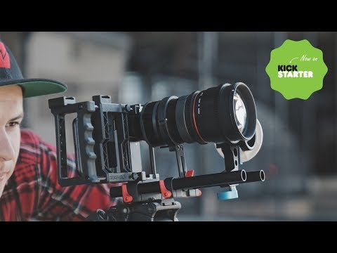 Beastgrip DOF Adapter MK2 & 1.33X Anamorphic lens Kickstarter Video. Shot on iPhone & Glalxy S8+