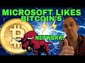 Microsoft Endores Bitcoin's Lightening Network - Sending Bitcoin Under A Penny Soon? BTC News