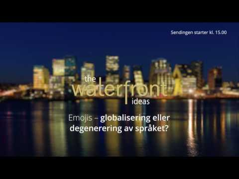 Emojis – globalisering eller degenerering av språket?   The Waterfront Ideas #10