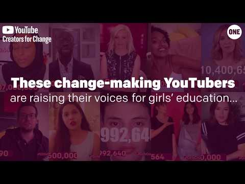 Change-making YouTubers raise their voices for #GirlsCount // The ONE Campaign