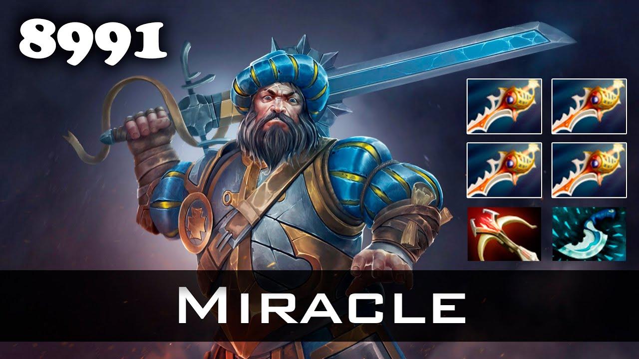 Miracle  Rapiers Kunkka  Mmr Dota