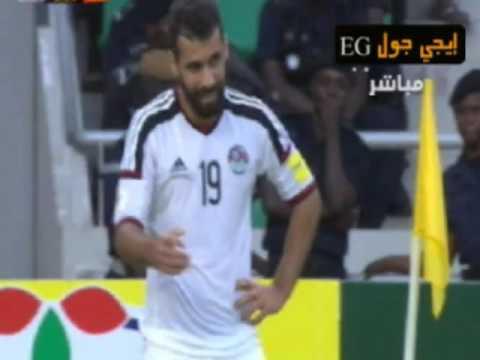 اخر دقائق مباراة مصر والكونجو + فرحة اللاعبين بالفوز فى التصفيات | 9-10-2016 egy vs cong