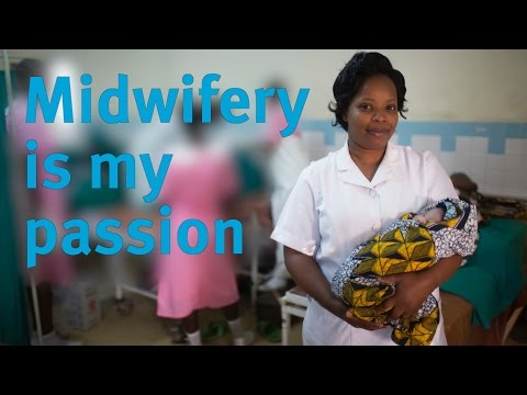 Midwifery is my passion | WaterAid