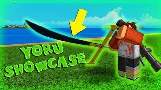 YORU SWORD SHOWCASE! | One Piece Millennium | Roblox