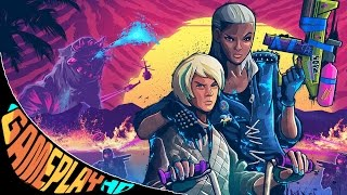 Trials of the Blood Dragon Gameplay (PC HD) [1080p60FPS]