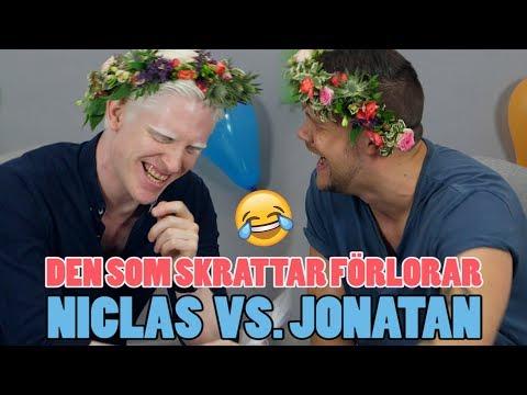 Den som skrattar förlorar – Torra skämt och ordvitsar med Niclas & Jonatan