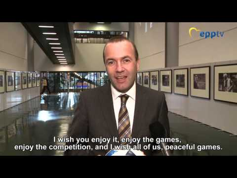 Manfred Weber: Enjoy Euro2016!