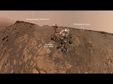 NASA's Curiosity Mars Rover takes selfie