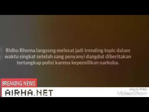 Ridho Roma di Tangkap Polisi kasus Narkoba, Langsung Jadi Trending Topic @AIRHA ARDIANSYAH