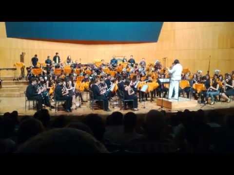 Mambo-Gala Benéfica Víctor Villegas Banda Conservatorio Profesional de Música de Murcia