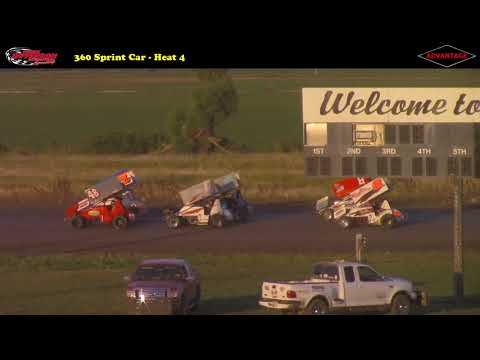 MSTS vs. Nebraska 360 Sprint Car -- 7/15/17 -- Park Jefferson Speedway