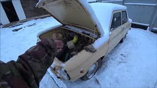 Пропало   сцепление / Разборка   Главный цилиндр сцепления ЗАЗ 968