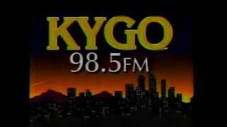 KYGO-FM 98.5 Radio Commercial (1992)