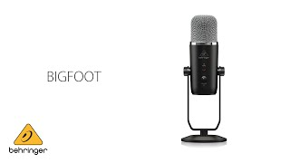 Exceptional Vocals with the New Behringer BIGFOOT