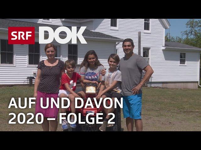 Schweizer Auswanderer | Uruguay, Kanada, Norddeutschland | Auf und davon 2020 (2/7) | Doku | SRF DOK