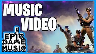 Fortnite Battle Royale Menu Music Video (Rock Version) || Epic Game Music