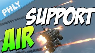 Crossout - Air Support & 360 Noscopes (Crossout Gameplay)