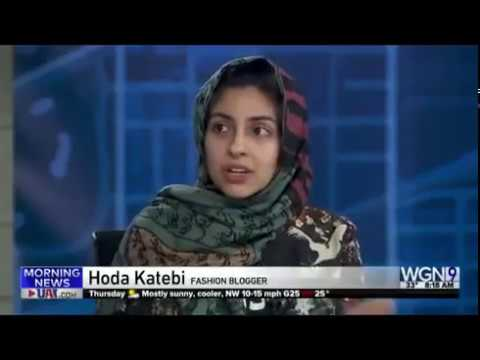 'You don't sound American,' TV host tells Iranian-American blogger Hoda Katebi