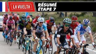 Résumé - Étape 7 - La Vuelta 2017