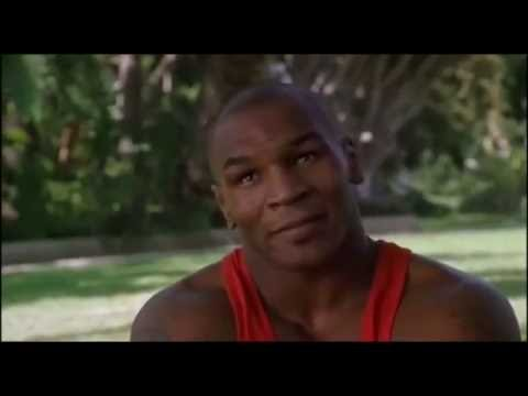 Mike Tyson vs 'Crocodile Dundee in los angeles'