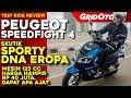 Peugeot Speedfight 4 L Test Ride Review L GridOto