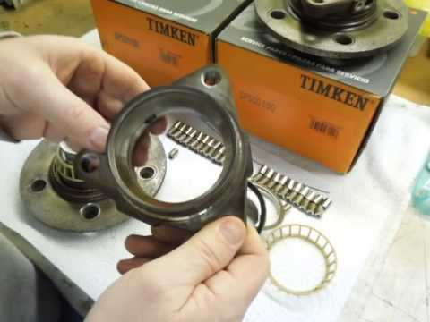 Timken Sealed Wheel Bearing/Hub Failure Disassembly and Review