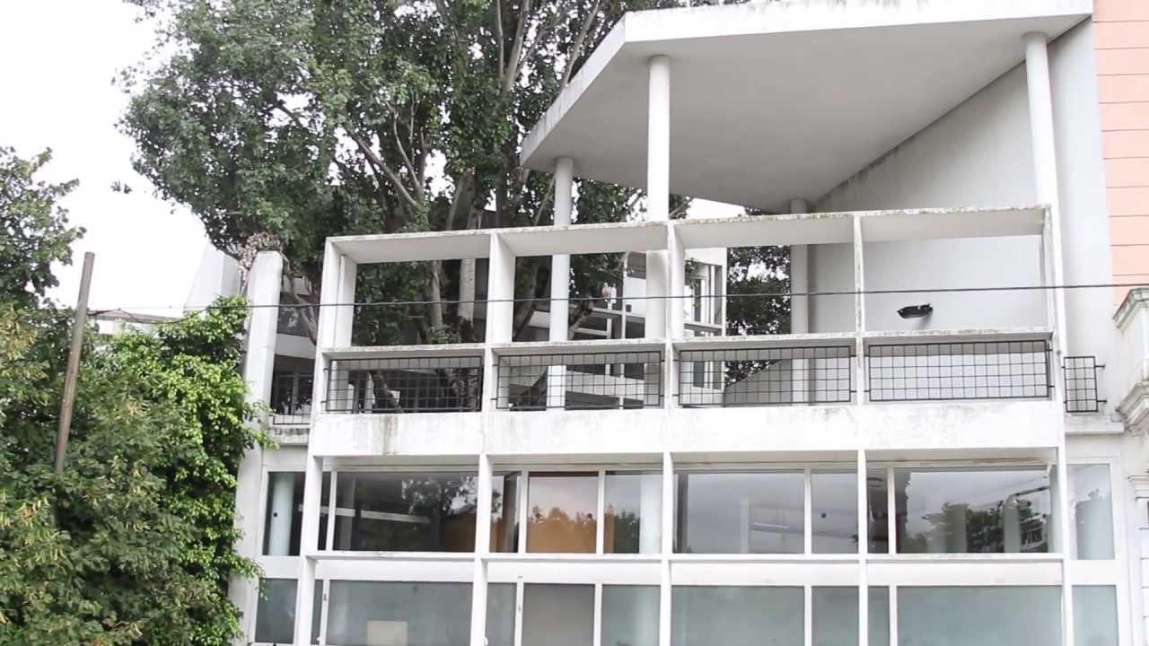 Felipe ib ez dona stencil de acero a la casa curutchet - Casas de le corbusier ...