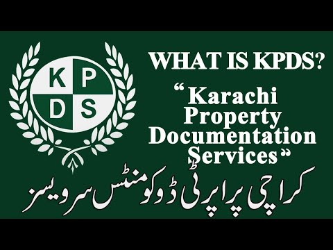 What is KPDS and what we do Karachi Property Documentation Services