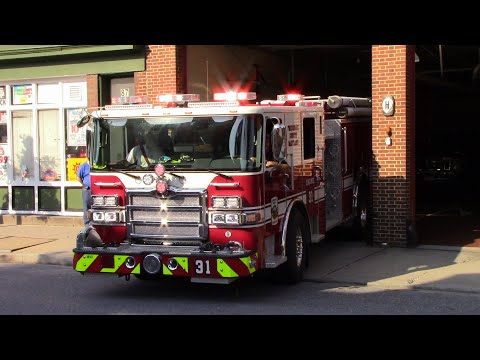 Frederick County NEW Engine 31, and Ambulance 39 Responding