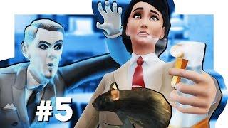 the Sims 4 Жизнь В Городе #5 Проклятая квартира