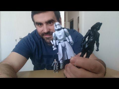 Heti videó: 04# Last Jedi figurák - Battle of Crait pack