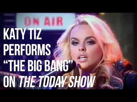 """Katy Tiz - The Today Show - Elvis Duran's Artist of the Month - """"The Big Bang"""""""
