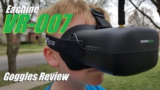Eachine VR-007 FPV Goggles from Banggood... & FatShark HD2s