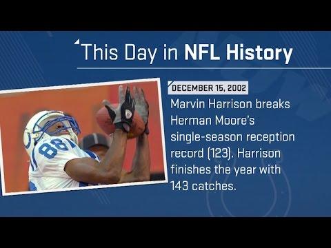 Marvin Harrison Breaks Herman Moore