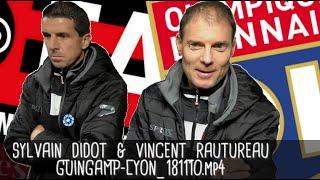 DIDOT ET RAUTUREAU RÉAGISSENT APRÈS GUINGAMP - LYON (2-4) / Ligue 1 - 10 novembre 2018