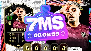 FINALLY A NEW RW!! 84 INFORM RAPHINHA 7 MINUTE SQUAD BUILDER - FIFA 21 ULTIMATE TEAM