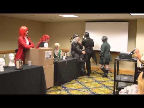 Dragon Con 2014 - 'Ask A Butler' Panel (Black Butler)