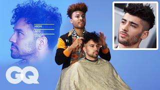 Zayn Malik's High Fade Haircut Recreated by a Master Barber | GQ