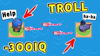 Брок ТРОЛЛЬ vs Ель Примо -300 IQ !! Смешные Моменты Brawl Stars #13