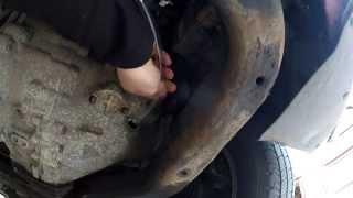 Vw T5a California 2.5 TDI (axe) manuel gearbox oil change
