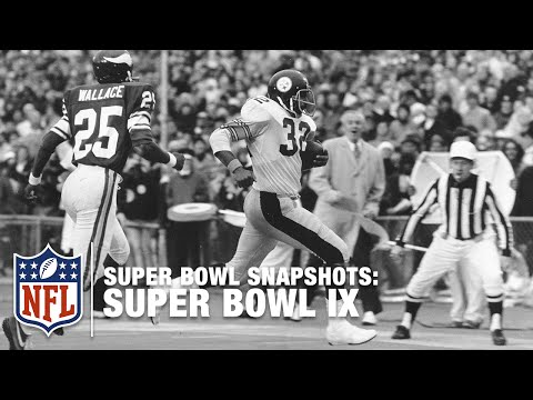 Super Bowl Snapshots: Franco Harris Remembers Super Bowl IX | NFL