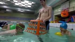 """Занятие """"Веселое плавание"""" с детьми 3-5 лет!"""