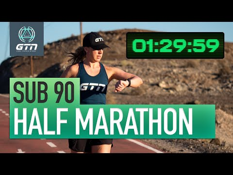 How To Run A Sub 90 Half Marathon | Run Training & Tips