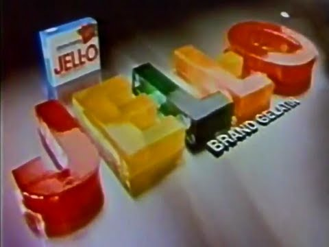 Kraft Foods Jell O Make Some Fun 1979 TV Commercial HD