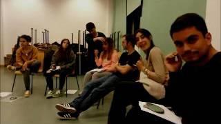 Los alumnos del Master de Agencias de EFE han recibido clases de Educación de la voz.
