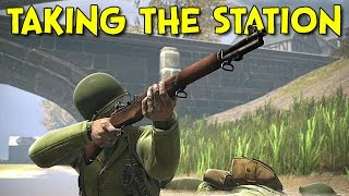 TAKING THE STATION! - Heroes and Generals (War Stories)