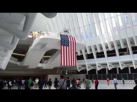 Oculus At Four World Trade New York City Manhattan Overview 6-24-16